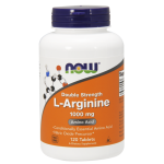Now Foods  L-Arginine - ARGININA 1000 mg 120 tabletek