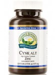 NATURE'S SUNSHINE Cynk ALT NSP 635 mg 120 tabletek