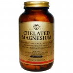 Solgar Chelated Magnesium - magnez chelat 250 tabletek