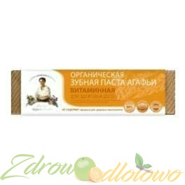 Agafii Pasta do zębów witaminowa 75 ml