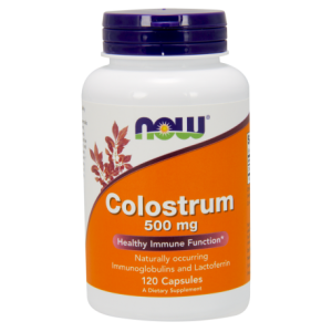 Now Foods Colostrum 500 mg 120 kapsułek VEG