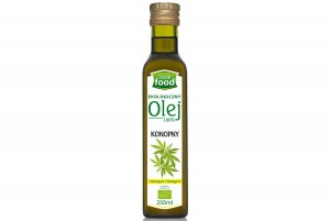 LOOK FOOD Oolej konopny 250 ml