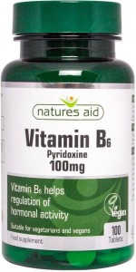 Natures Aid Witamina B6 100 mg 100 tabletek