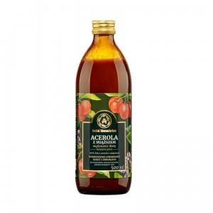 Herbal Monasterium Acerola sok z miąższem 100% 500 ml