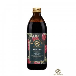 Herbal Monasterium naturalny sok z malin 500 ml
