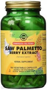 SOLGAR Saw Palmetto BERRY EXTRACT 180 kapsułek