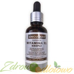 SINGULARIS Witamina D3 400IU Krople, 30 ml