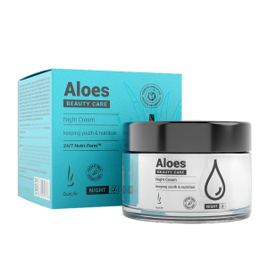 DuoLife Beauty Care Aloes night Cream 50 ml krem na noc