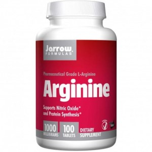 Jarrow Formulas L-arginina 1000mg 100 tabletek